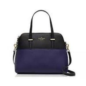 Kate Spade New York Cedar Street Blue Black Purse